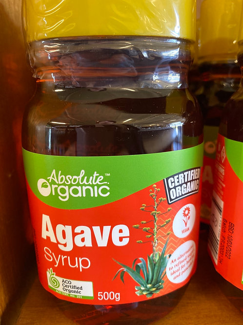 ABSOLUTE ORGANICS - Agave Syrup 500g