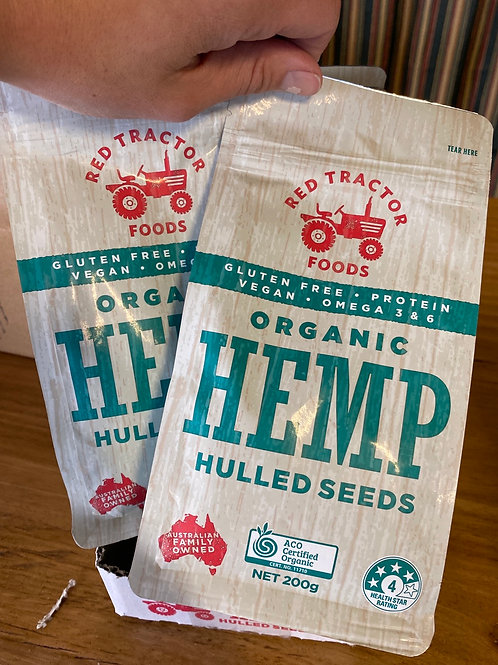 Organic Hemp Seeds - Hulled 200g