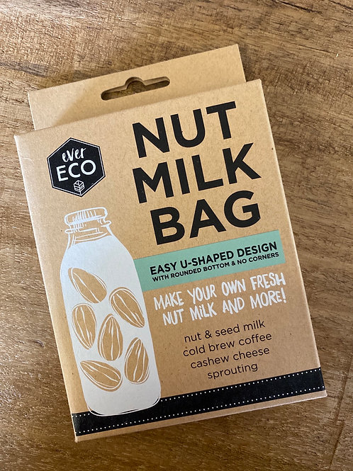 EVER ECO - Nut Milk Bag + Recipe Booklet