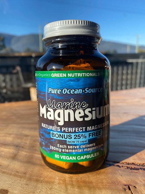 GREEN NUTRITIONALS - Marine Magnesium 60 caps