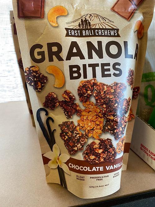 GRANOLA BITES - choc vanilla