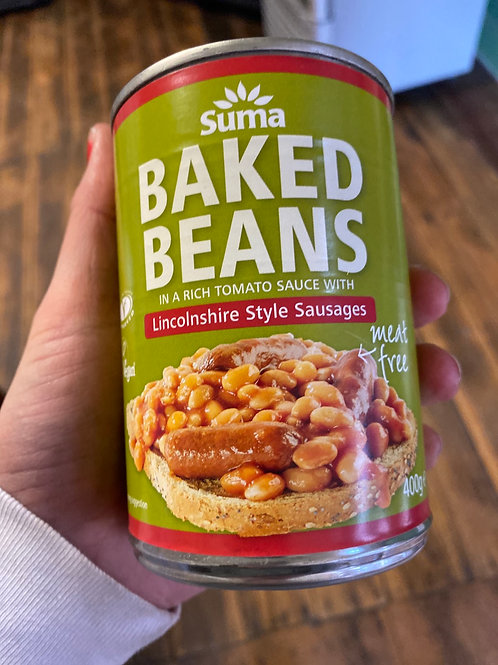 SUMA - Baked Beans with Sausages
