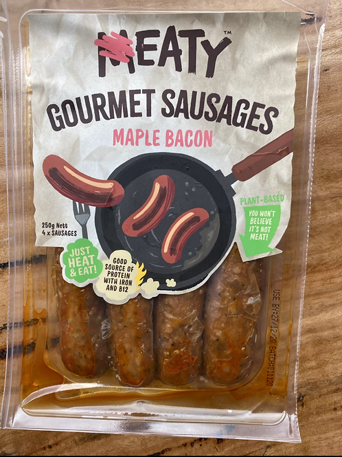 EATY - Gourmet Sausages, Maple Bacon