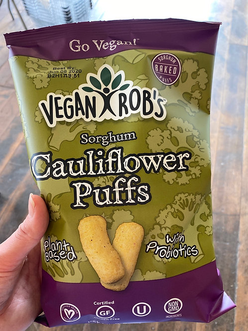 VEGAN ROBS - Cauliflower Puffs