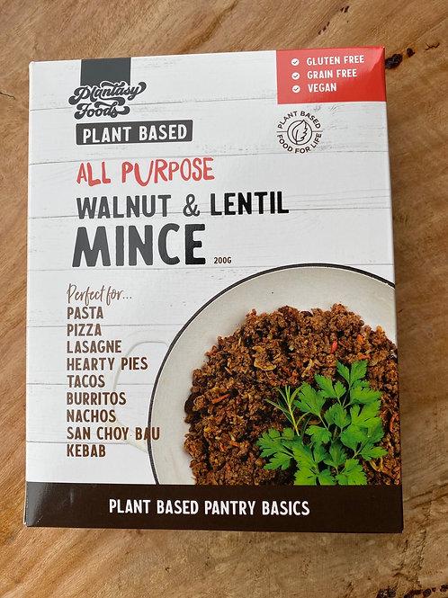 PLANTASY FOODS - Walnut and Lentil Mince 200g