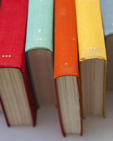 Lombadas coloridas