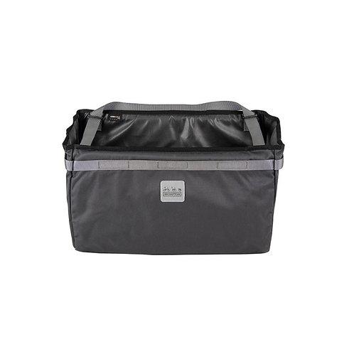 Borough Basket Bag Large in Dark Grey