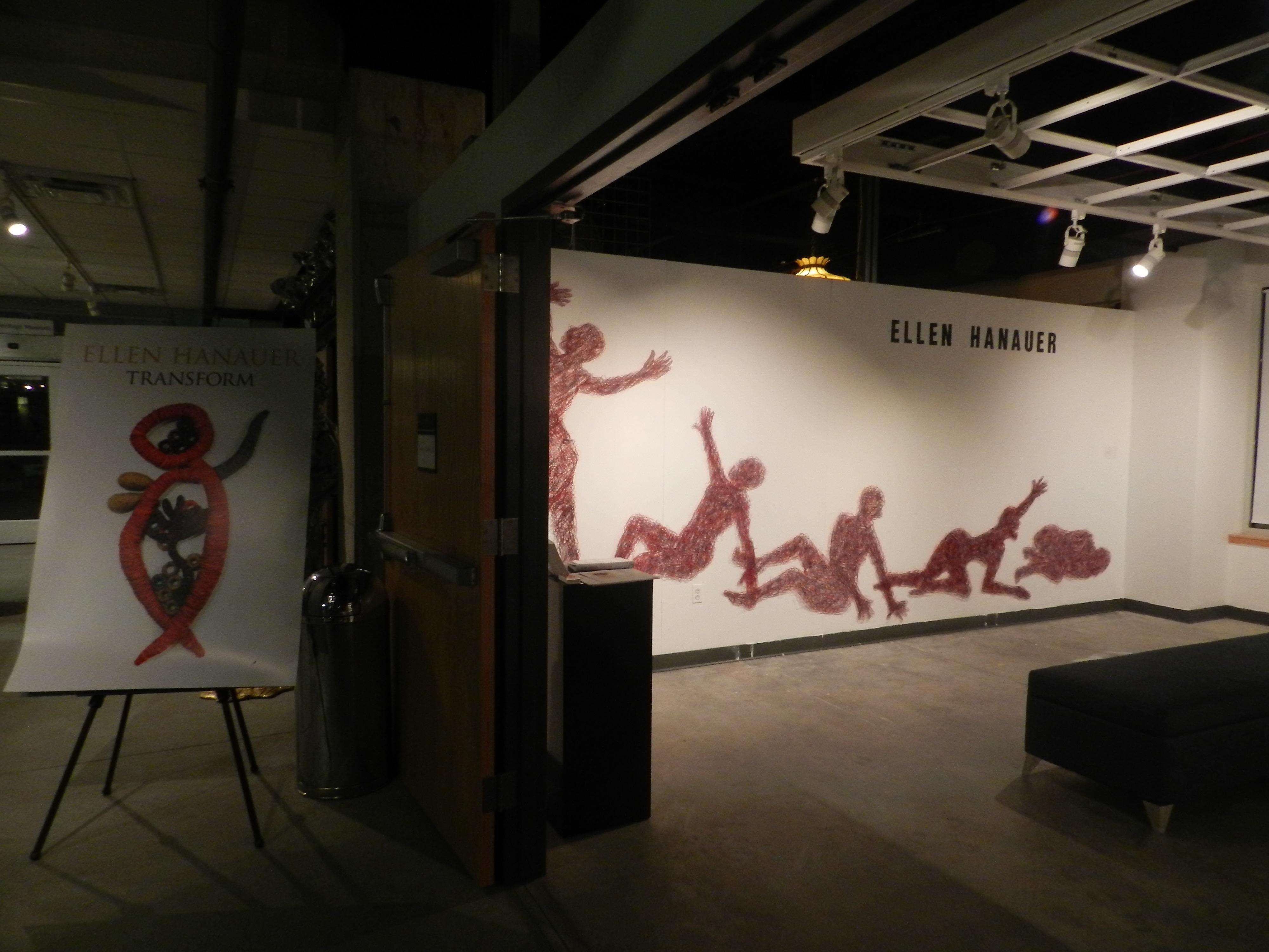 Transform gallery entrance