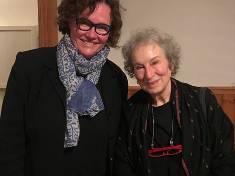 """""""We are in the era of pushback"""": Margaret Atwood's The Testaments Book Tour Event, November 12th, 20"""