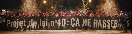 The CAQ Controversially Passes Bill 40