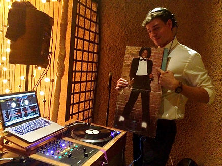 DJ Aaron Francisco of All Ears DJ Weddings & Events in the San Francisco Bay Area