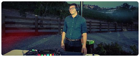 DJ Jayson Ehm of All Ears DJ Weddings & Events in the San Francisco Bay Area