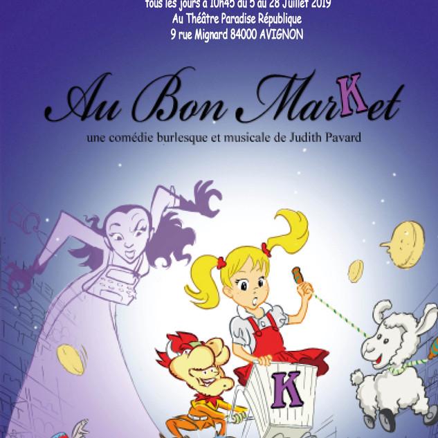 Affiche Au Bon Market