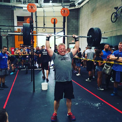 He made it! Go _rodcoty ! #chuckwallacrossfit #crossfit #springfling2016