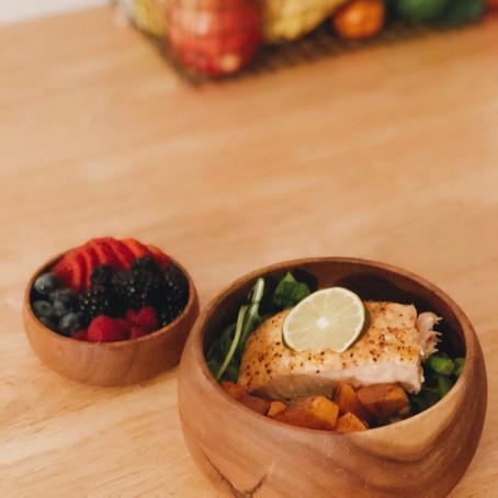 Salmon Nourish Bowl