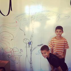 crossfit kids whiteboard