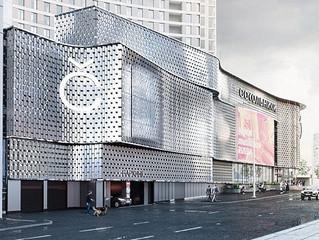 ТЦ «Сокольники» получит новый фасад и фудхолл