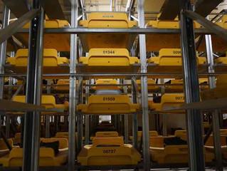 Роботы будут сортировать багаж в аэропорту Домодедово