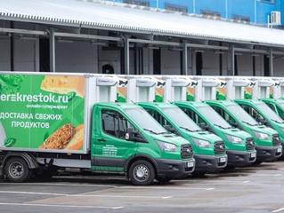 «Перекрёсток» возобновил бесплатную доставку продуктов пенсионерам