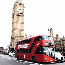 Big Ben and a London bus