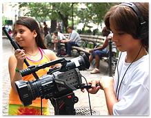 Children film-making