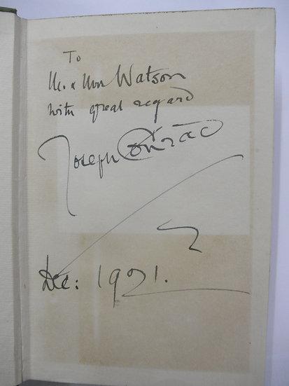 Joseph conrad inscribed collection