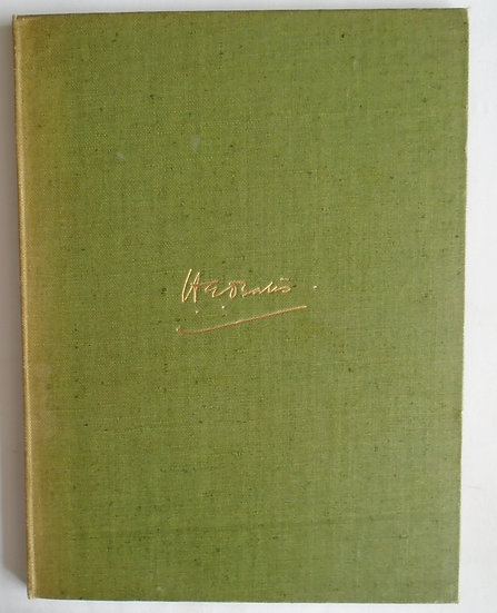 H.E.BATES LIMITED EDITION WITH MANUSCRIPT PAGE