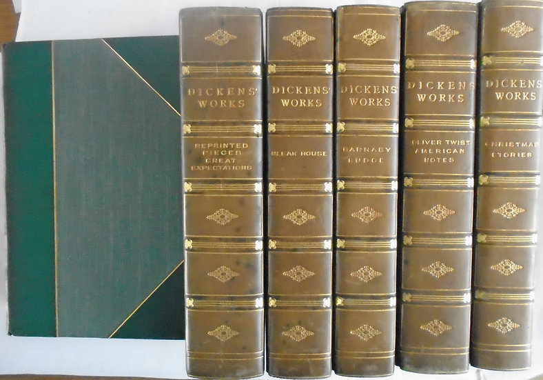 FIRESIDE EDITION CHARLES DICKENS COMPLETE SET