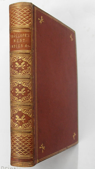 THE WEST INDIES AND THE SPANISH MAIN ANTHONTY TROLLOPE FIRST EDITION