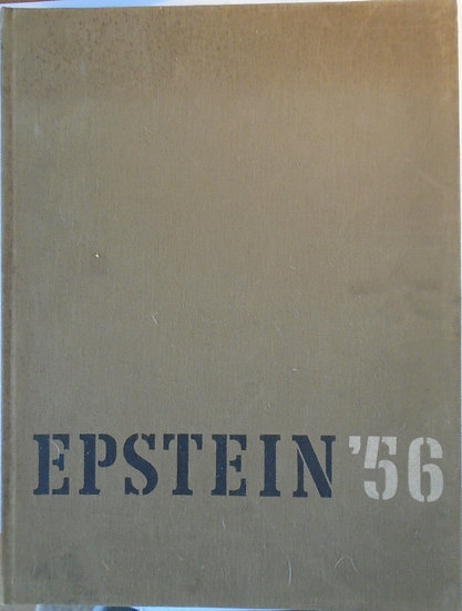 EPSTEIN '56 A CAMERA STUDY OF THE SCULPTOR AT WORK