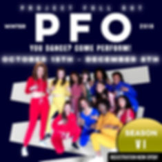 PFO WINTER REHEARSAL SCHEDULE 2018  1ST