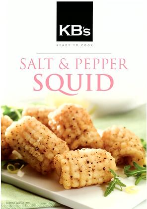 Kallis Bros Salt & Pepper Squid Spirals 1kg
