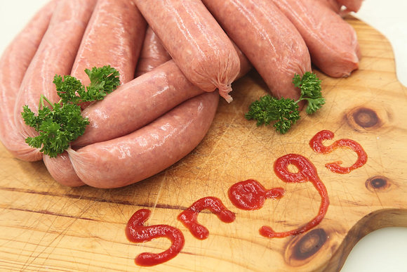 BBQ Thin Sausage 2kg LOTS