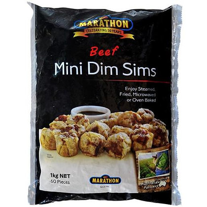 Marathon Beef Mini Dim Sims 1KG (16GX60) (6)