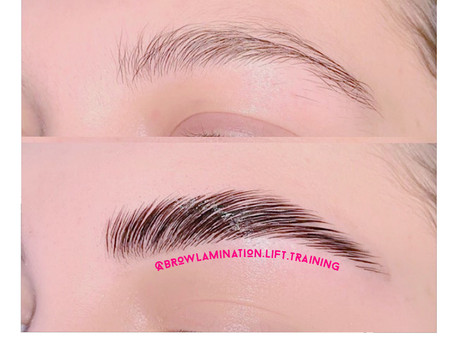 Brow Lamination answer to thin Brows and Microbladding alternative