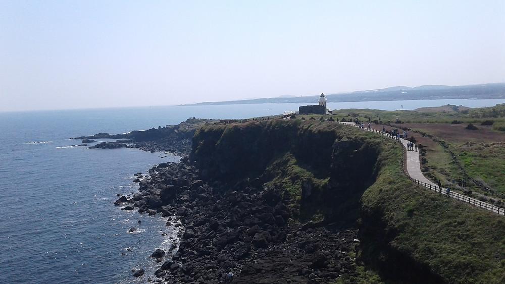 Jeju's beautiful shoreline