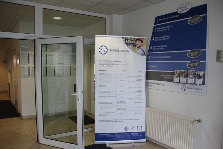 Eingangsbereich des LTZ