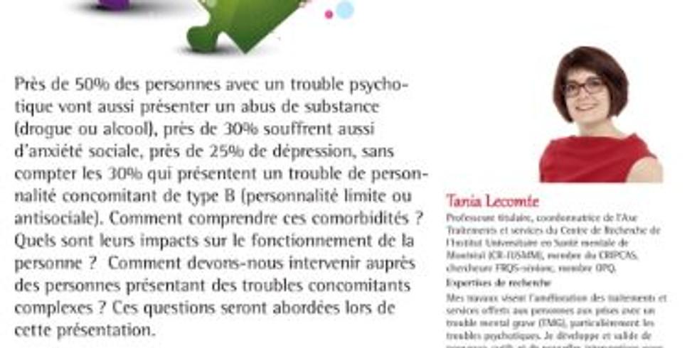 CONFÉRENCE : Psychoses et troubles concomitants