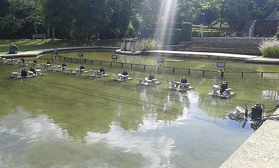 bassins déjà implantés