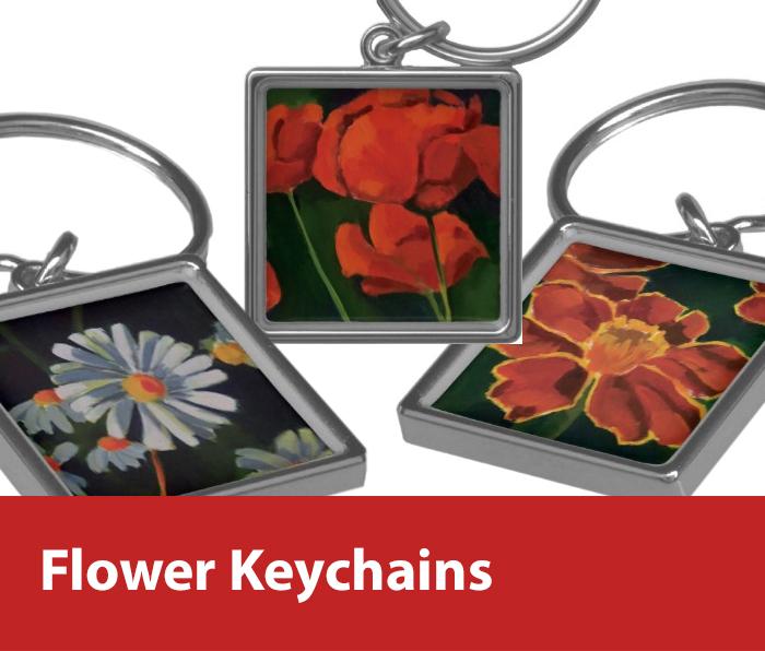 The Flower Keychain