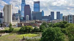 Philadelphia Cityscape, Baldwin Park