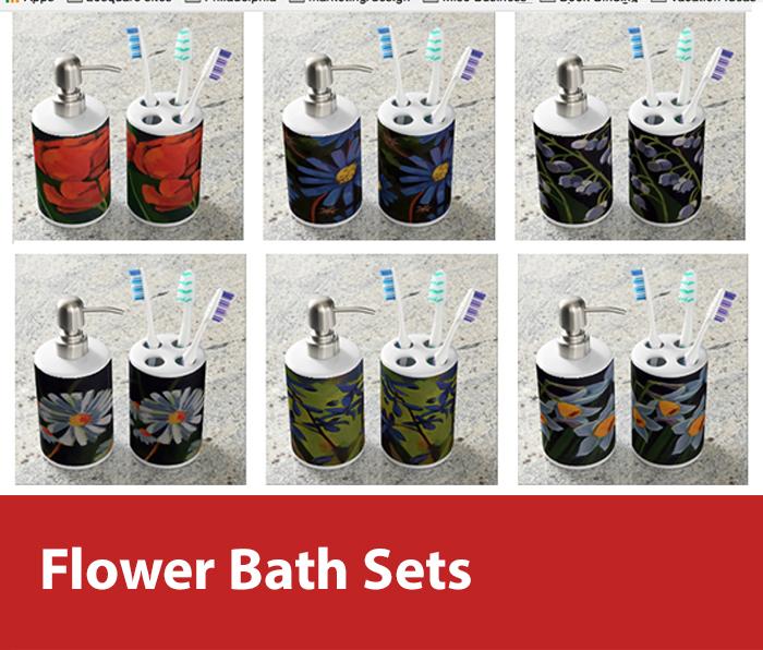 Flower Bath Accessories
