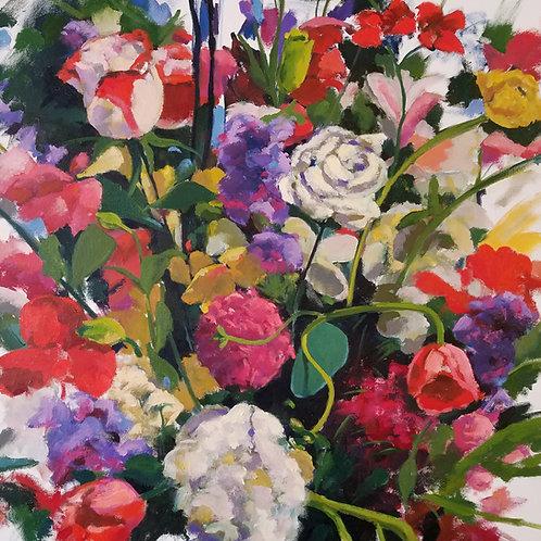 """Vase Garden (30x30"""")"""