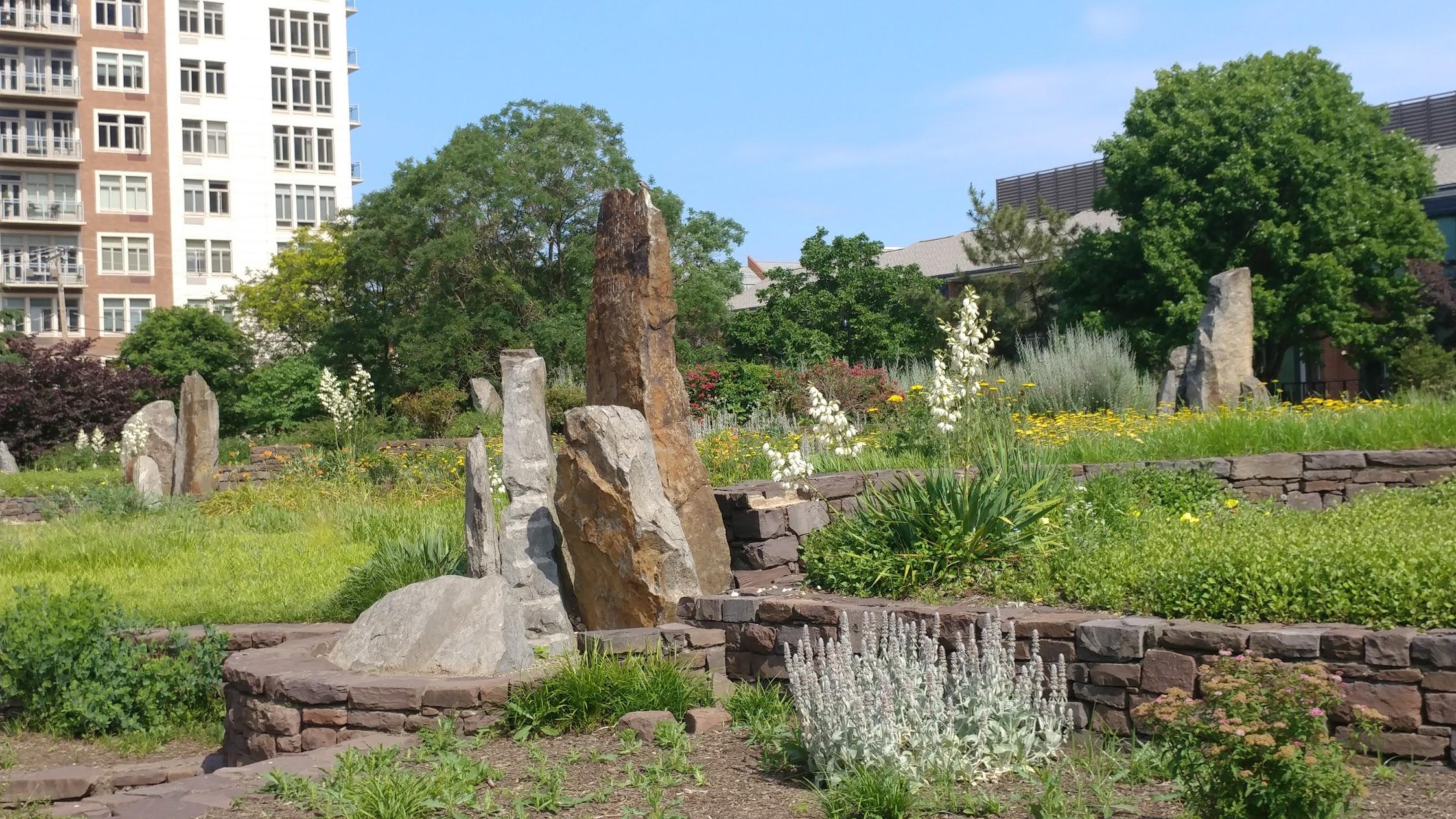 Rock Sculptures at Matthias Baldwin