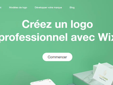 Wix logo maker : 10 conseils pour un logo qui vous ressemble !