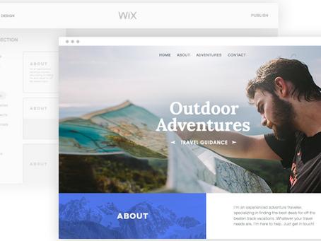 Wix adi ou Wix editor ?