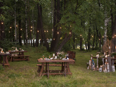 Comment organiser une fête dans un espace naturel ?