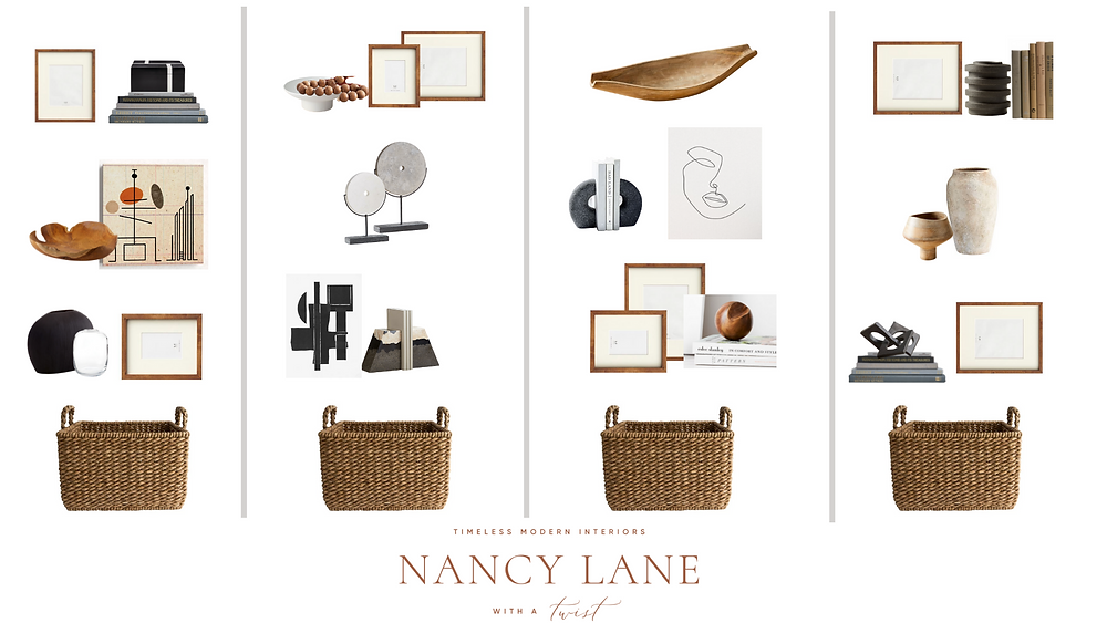 How to Style a Built-in Bookshelf by Nancy Lane Interiors