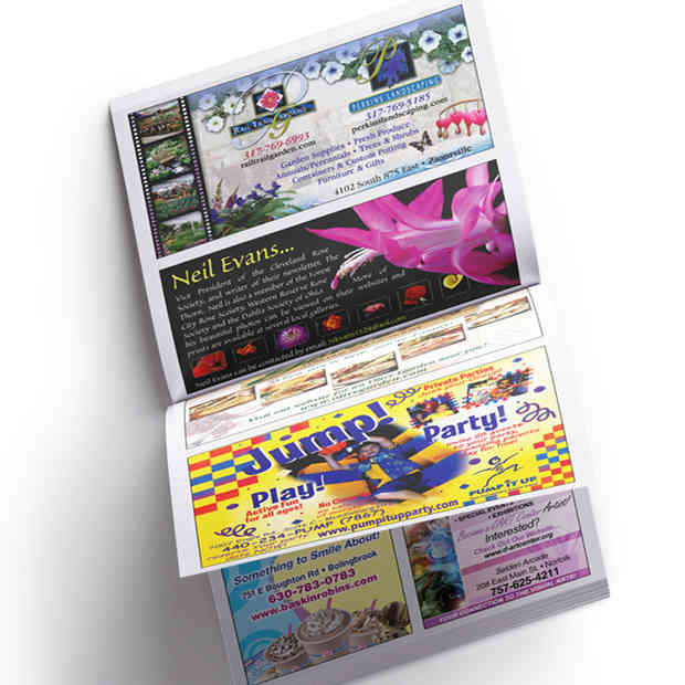 The Town Planner Cover and Ad Designs © The Town Planner