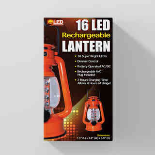 Rechargeable Lantern-© LED Innovations